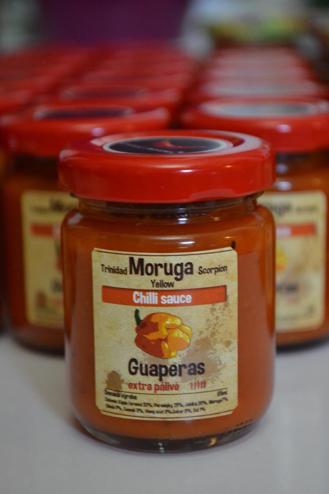 Domáce chilli omáčky Habanero, Moruga a Carolina Reaper - Obrázok č. 3