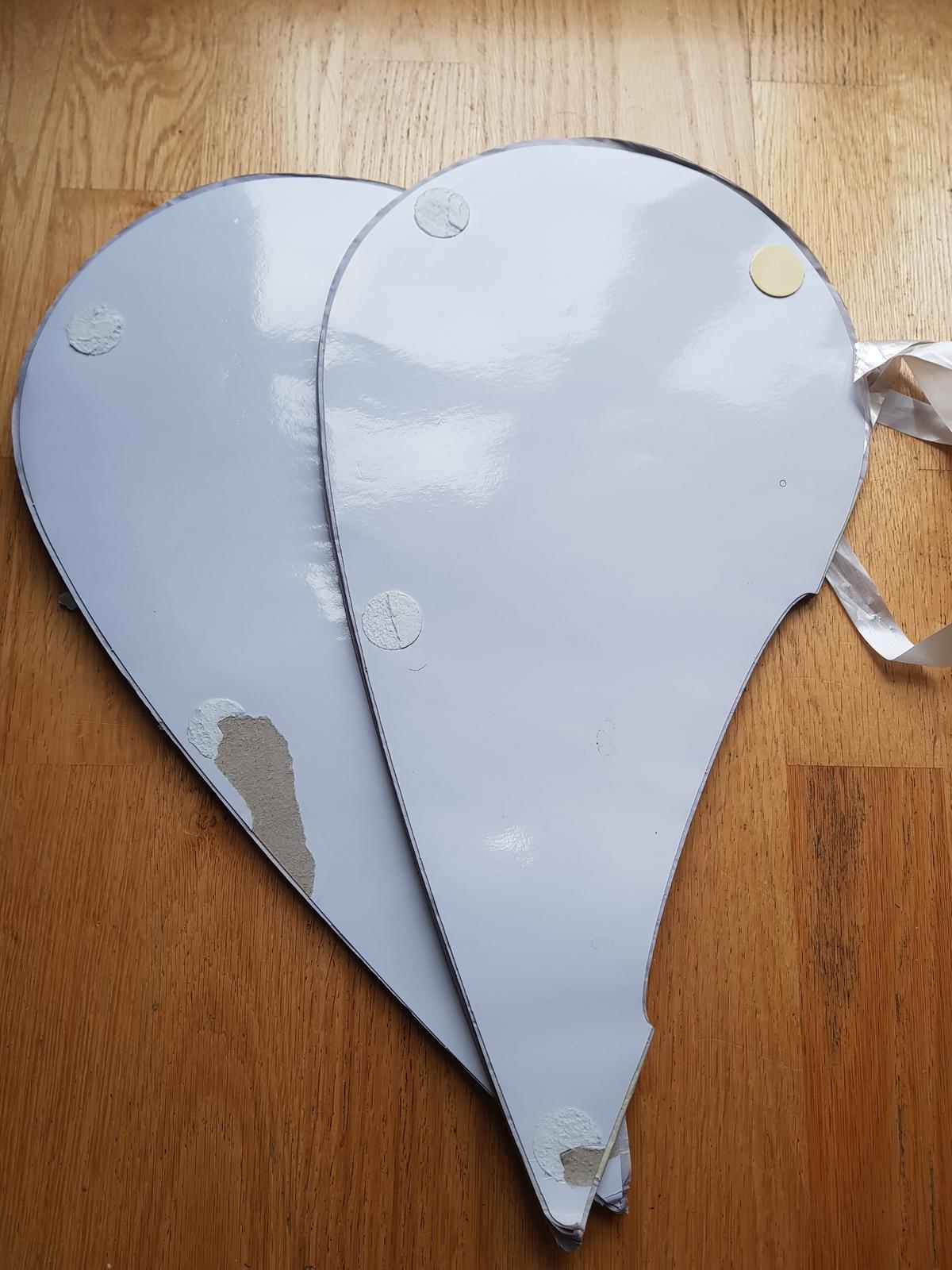 Honeycomb srdce velké - šedofialová - Obrázek č. 3