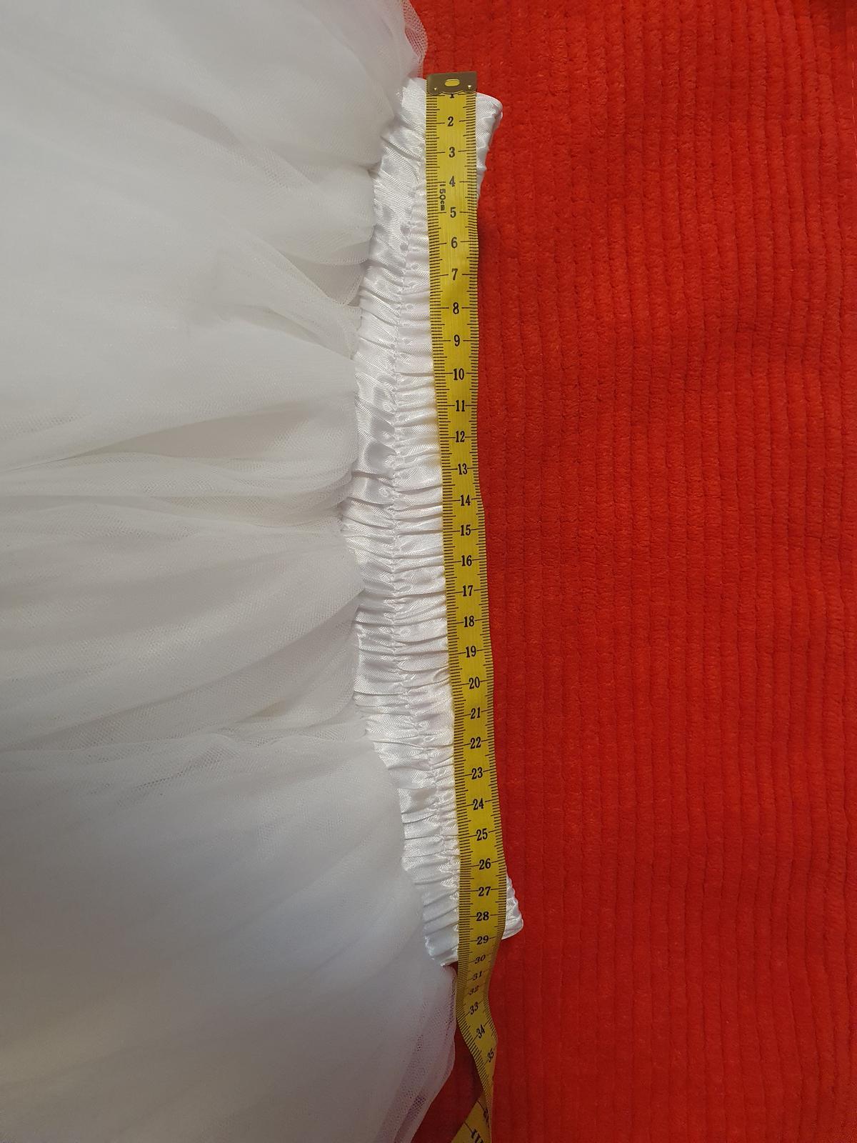 Bila tutu sukně - Obrázek č. 1
