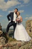 Svatební šaty, vel. 36 - 40, 36