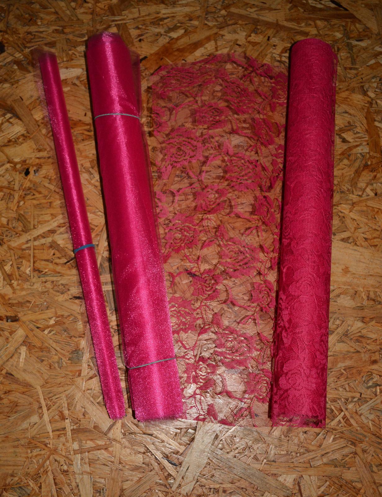 Organza 50x300cm + 50x400cm - Obrázok č. 1
