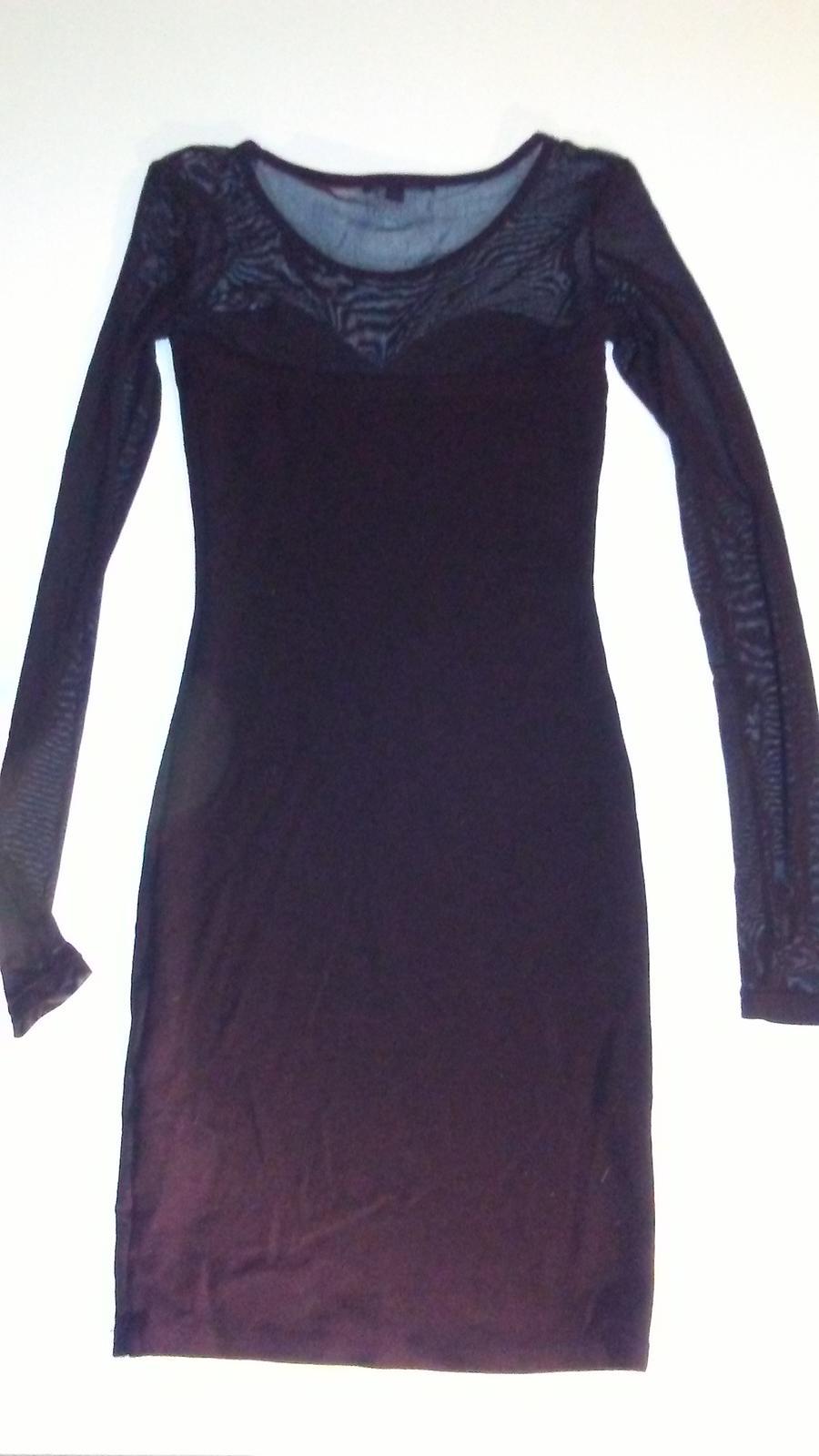 Černé šaty zn.Tally Weijl - Obrázek č. 3