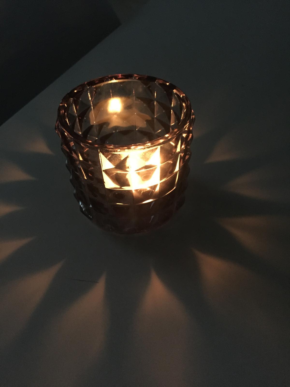 Svietniky na čajové sviečky - Obrázok č. 1