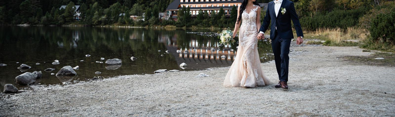 svadobné šaty čipkované - Obrázok č. 1