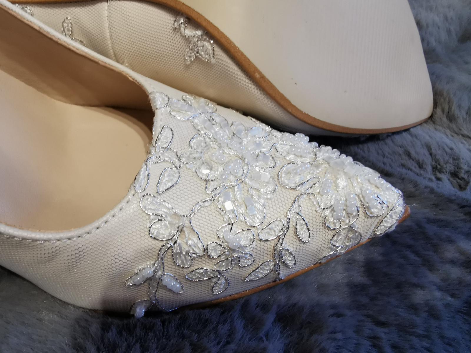 Svadobné topánočky  - Obrázok č. 1