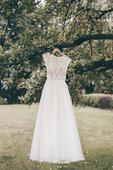 originální krajkové svatební šaty vel.34-36, 34