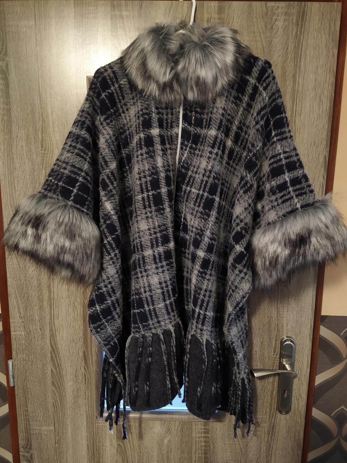 kabátik-s kožušinkou 40-44 - Obrázok č. 1