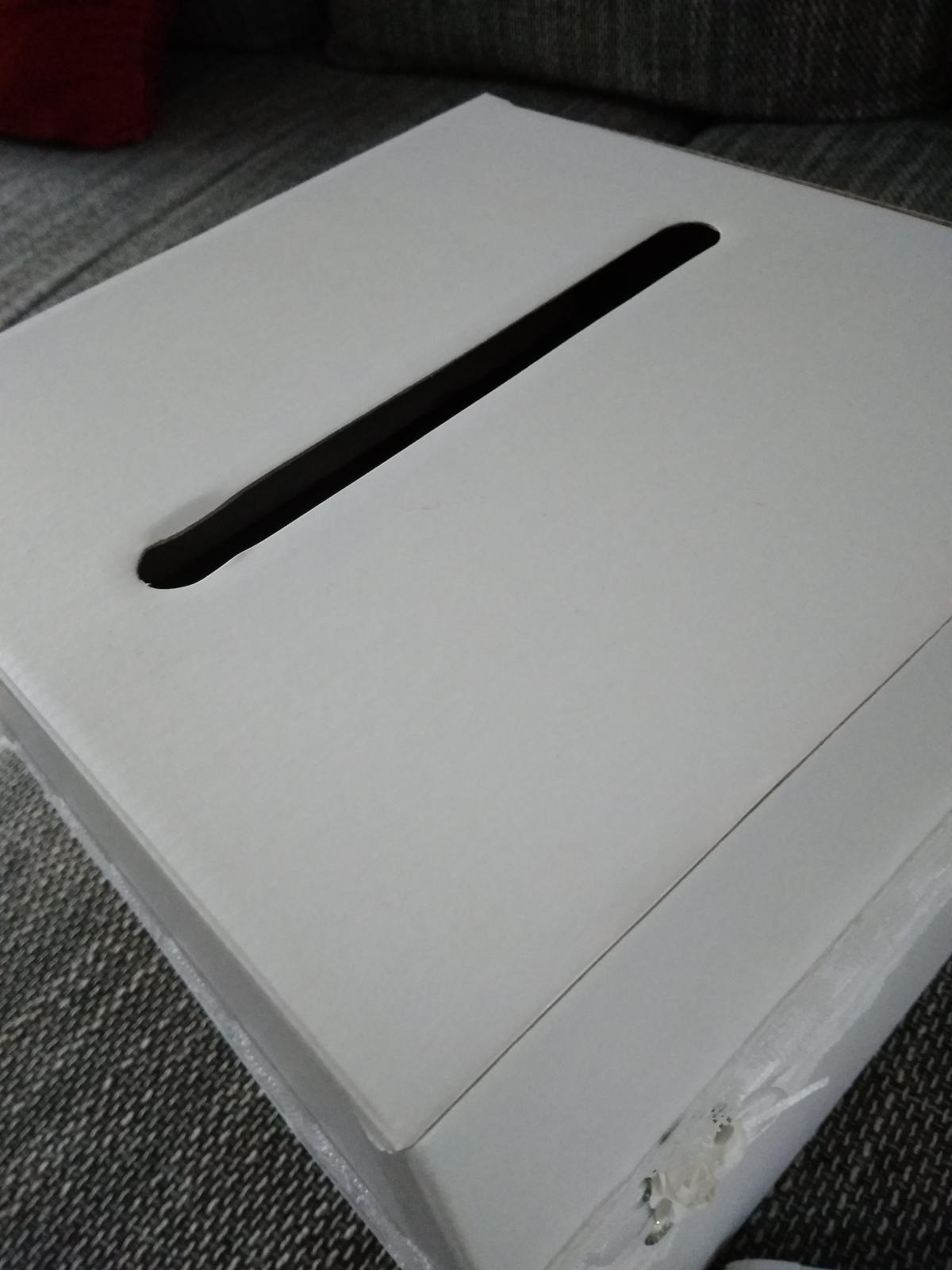 Album Naše svatba, dekorační krabice na přáníčka - Obrázek č. 4