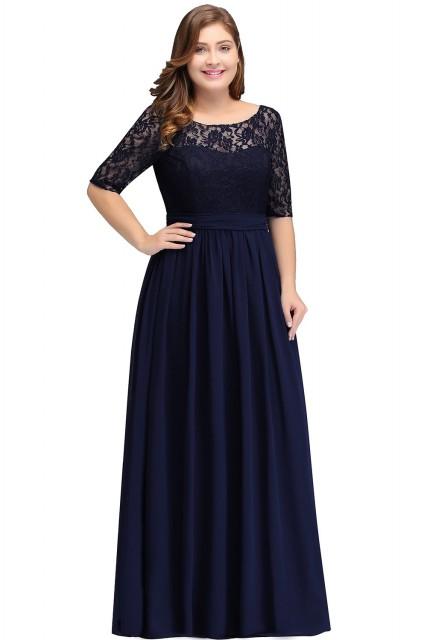 Spoločenské šaty 1844 - veľ. 44,46,48,50,52,54,56 - Obrázok č. 1