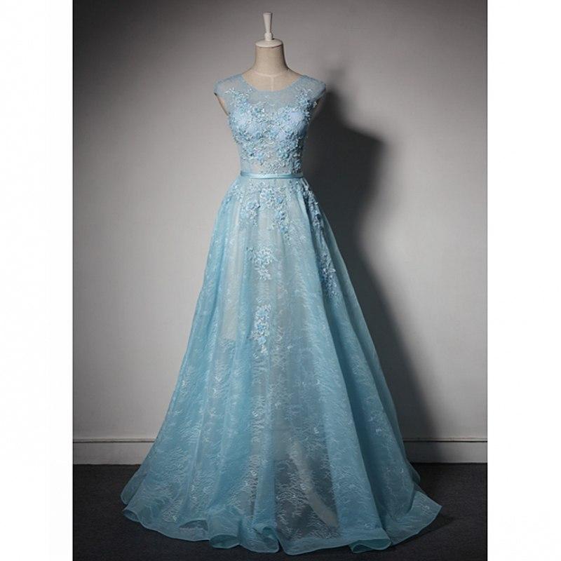 Spoločenské šaty 1456 - veľ. 32 až 56 - Obrázok č. 1