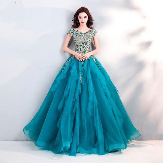Spoločenské šaty 0557 - veľ. 34  - Obrázok č. 1