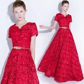Dlhé spoločenské šaty - veľ. 32, 32