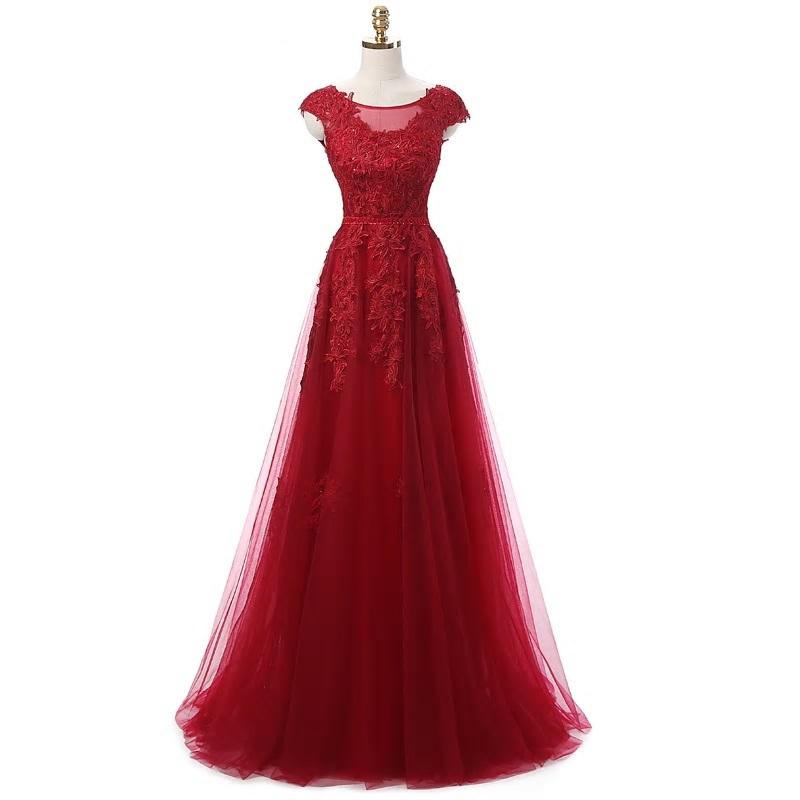 Dlhé spoločenské šaty - veľ. 36 - Obrázok č. 1