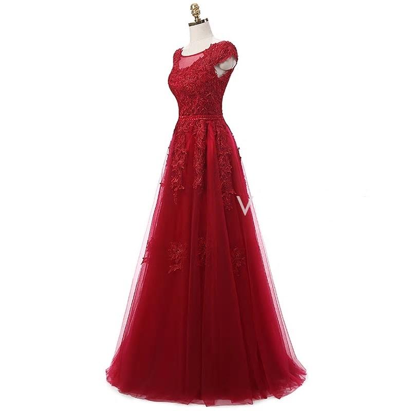Dlhé spoločenské šaty - veľ. 36 - Obrázok č. 2