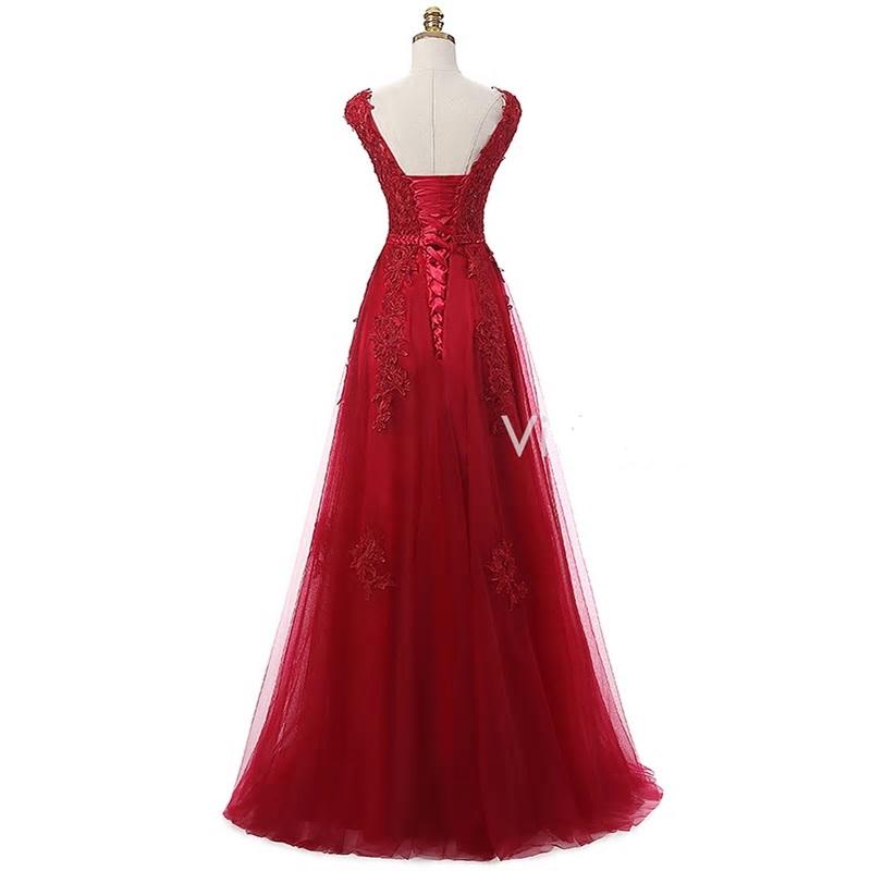 Dlhé spoločenské šaty - veľ. 36 - Obrázok č. 3