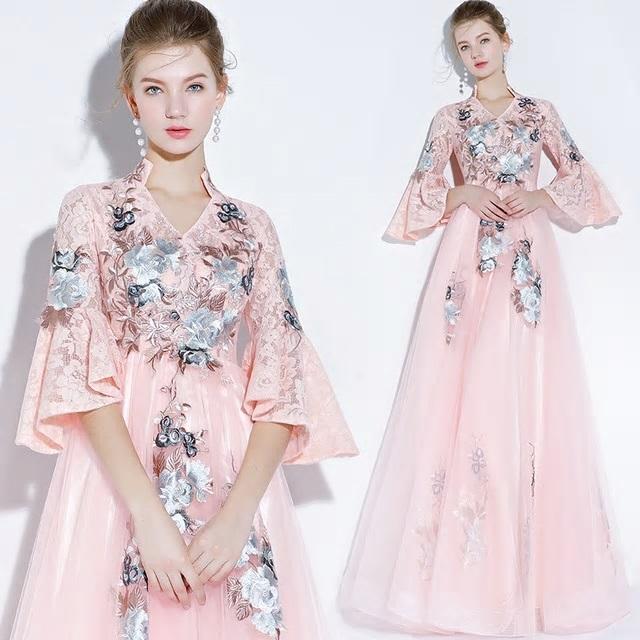 Dlhé spoločenské šaty - veľ. 42 - Obrázok č. 1