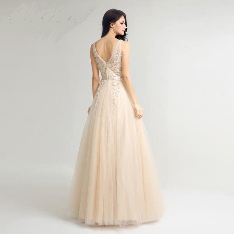 Dlhé spoločenské šaty - veľ. 46 - Obrázok č. 2