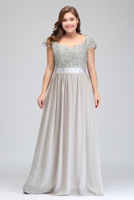 Dlhé spoločenské šaty - veľ. 50 - Obrázok č. 1