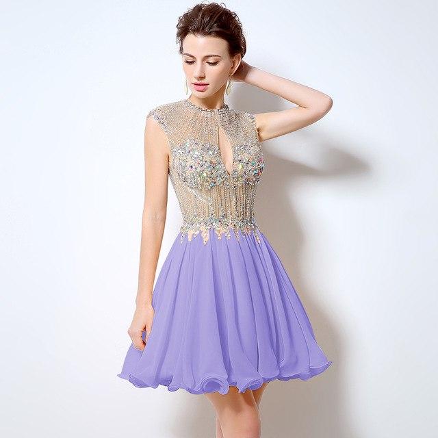 Luxusné krátke spoločenské šaty  - Obrázok č. 1