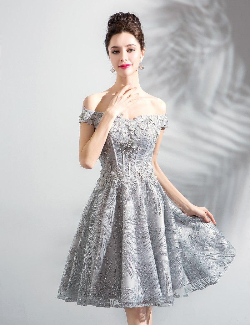 Krátke spoločenské šaty do veľkosti 44 - Obrázok č. 3
