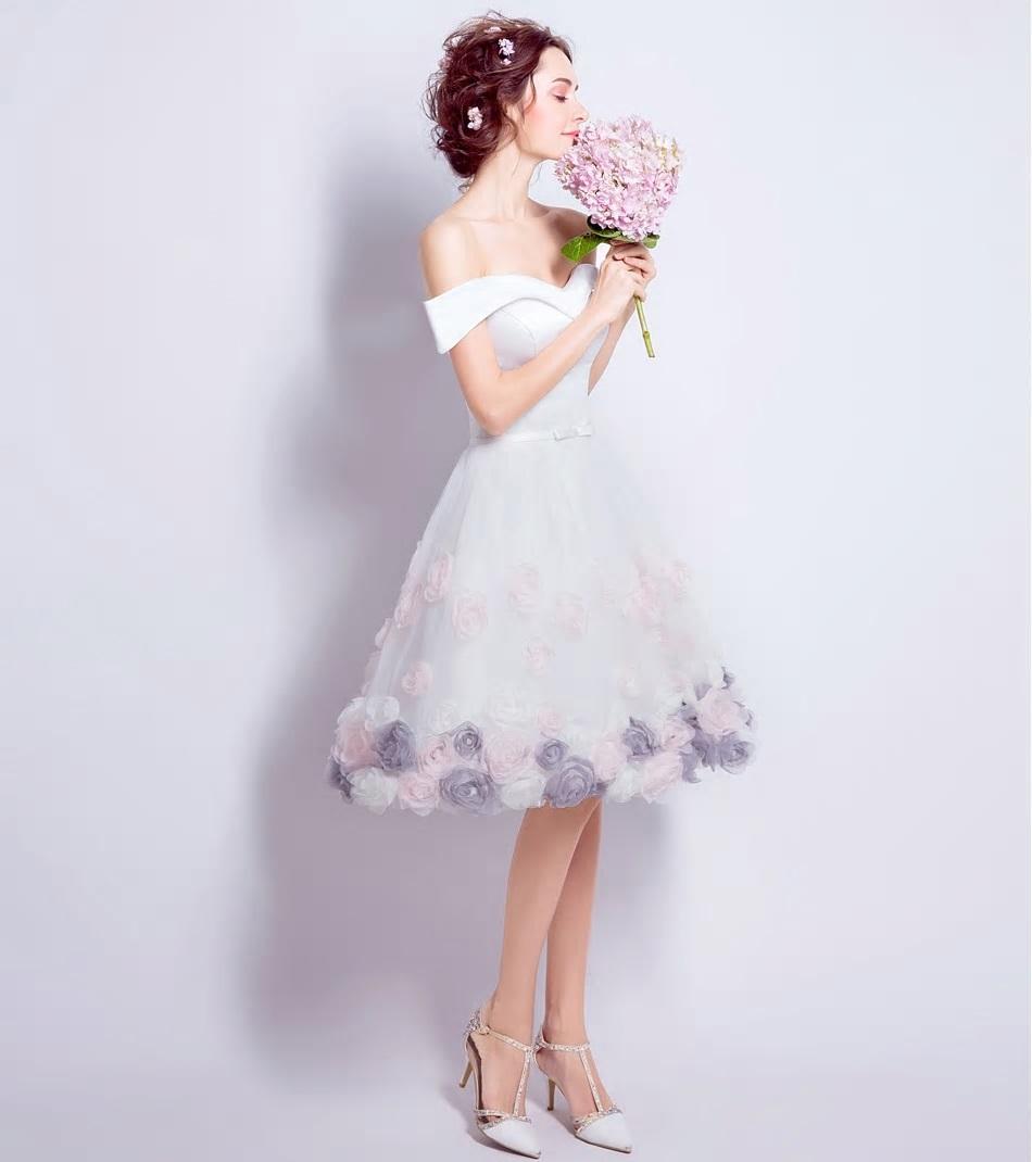 Krátke spoločenské šaty do veľkosti 44 - Obrázok č. 2