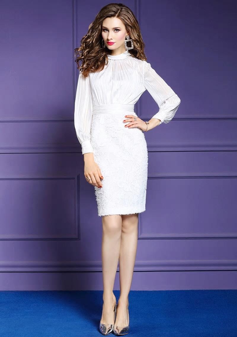 Krátke spoločenské šaty do veľkosti 46 - Obrázok č. 3