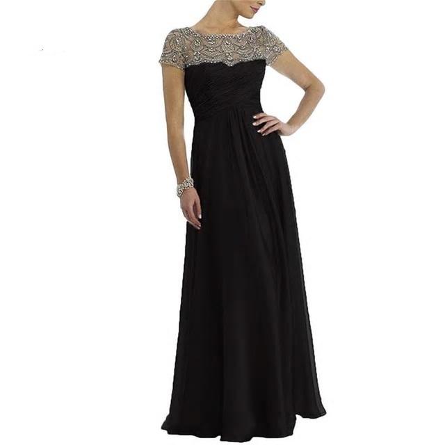 Dlhé spoločenské šaty do veľkosti 56 - Obrázok č. 1
