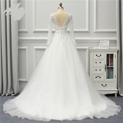 Rozprávkové svadobné šaty pre MOLETKY do 48 - Obrázok č. 2