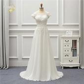 Rozprávkové svadobné šaty pre MOLETKY do 48, 46