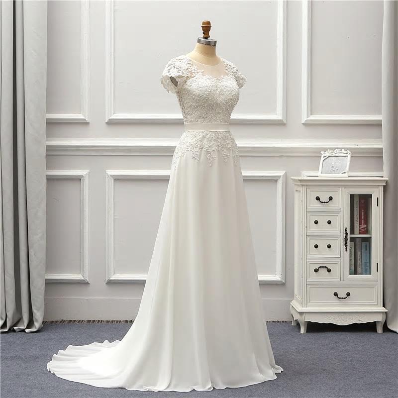 Rozprávkové svadobné šaty pre MOLETKY do 48 - Obrázok č. 4