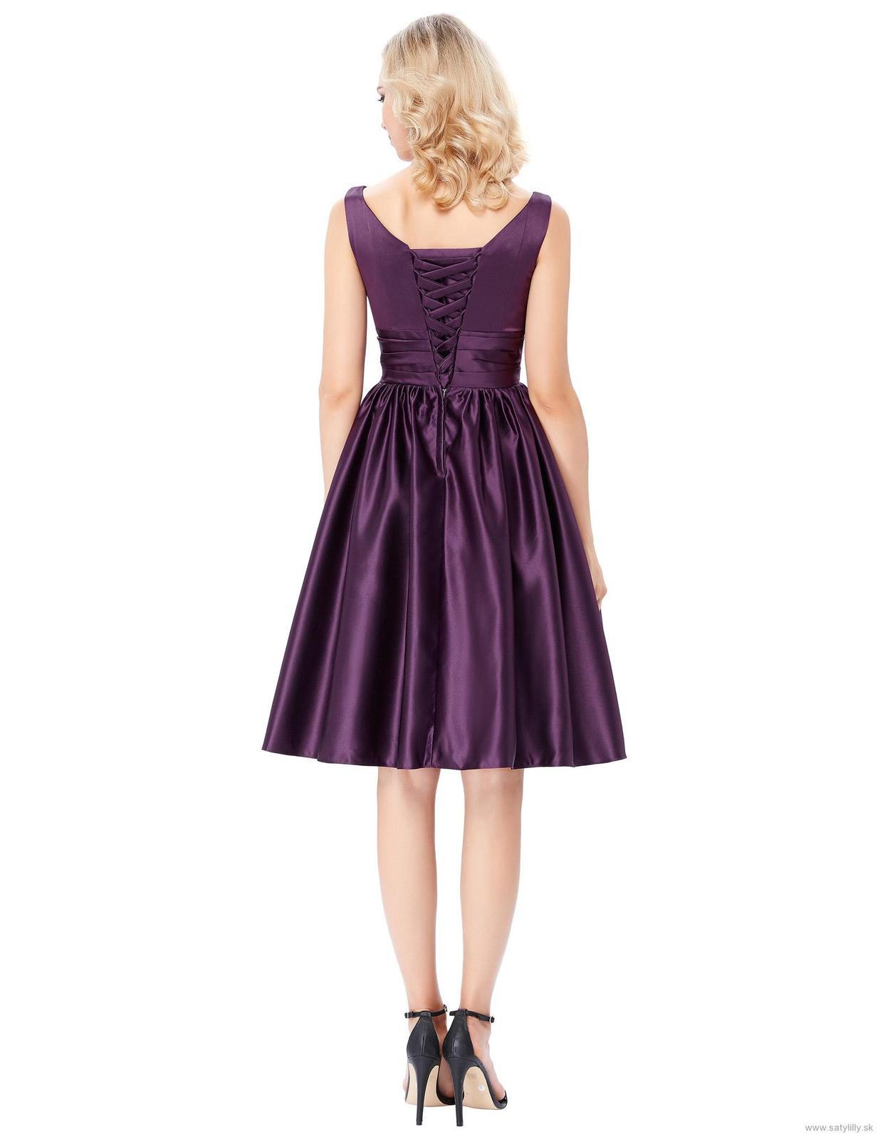 Krátke spoločenské šaty - veľ. 34 dodanie IHNEĎ - Obrázok č. 2