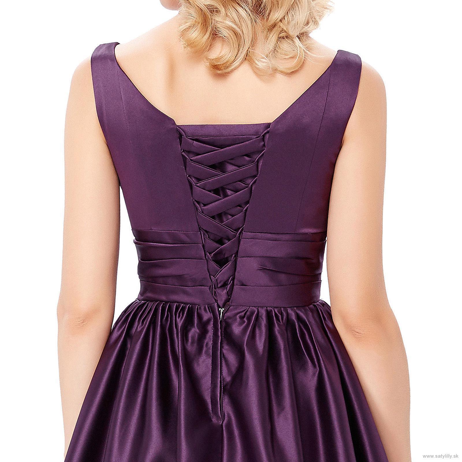 Krátke spoločenské šaty - veľ. 34 dodanie IHNEĎ - Obrázok č. 4
