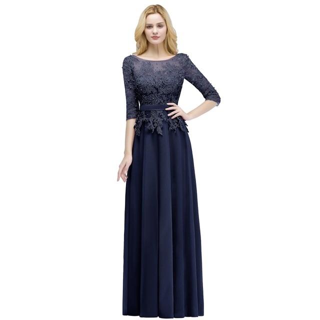 Dlhé spoločenské šaty - veľ. 42 dodanie IHNEĎ - Obrázok č. 1