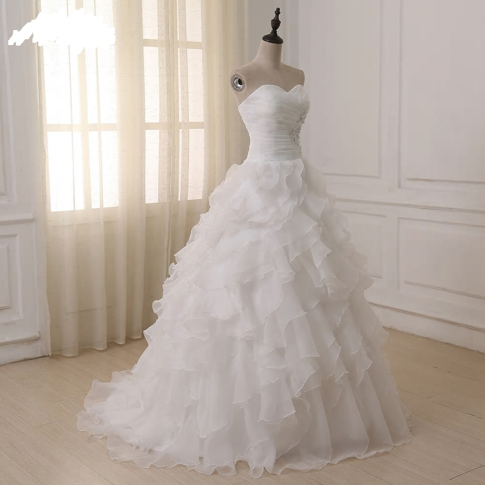 Rozprávkové svadobné šaty pre MOLETKY do 58 - Obrázok č. 3