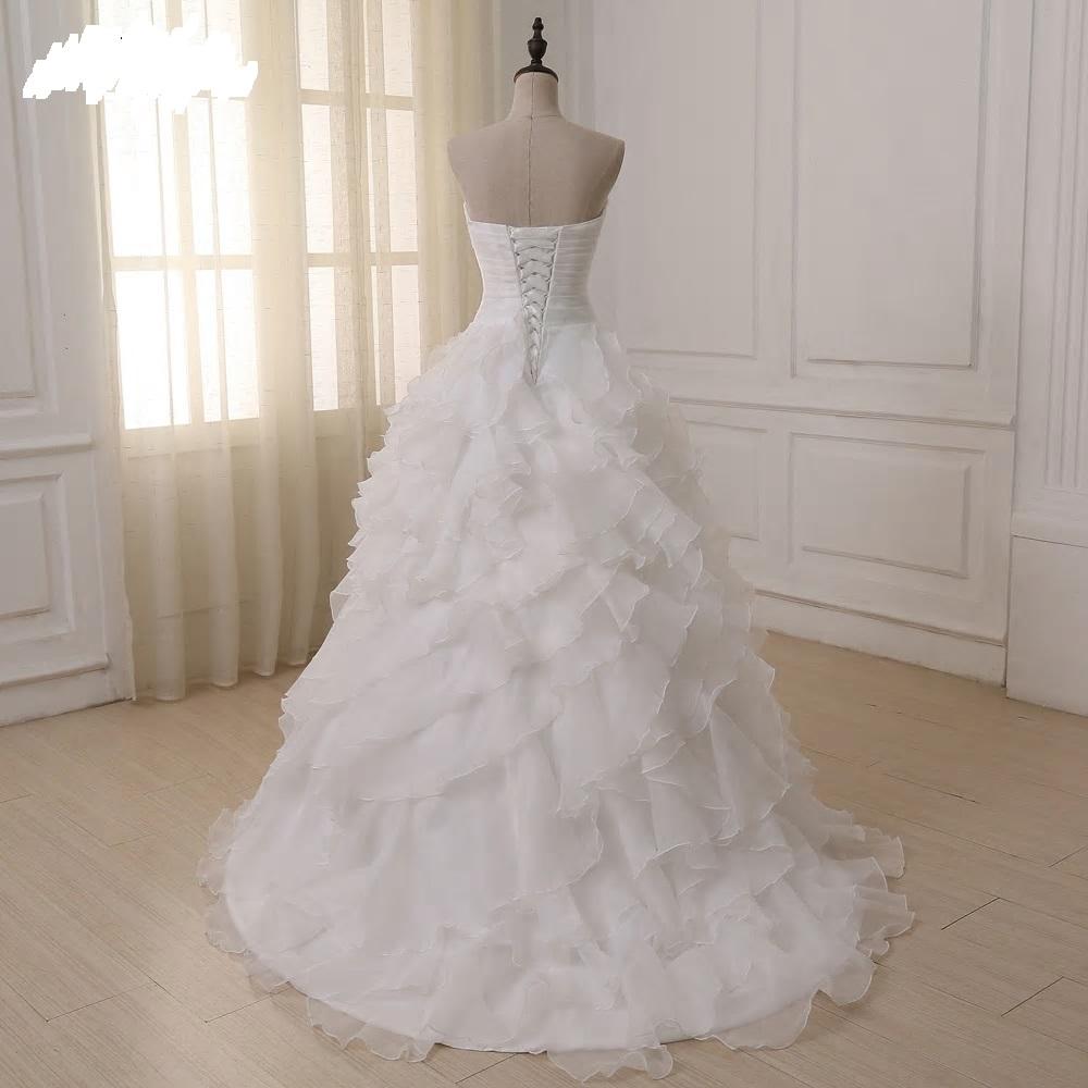 Rozprávkové svadobné šaty pre MOLETKY do 58 - Obrázok č. 4