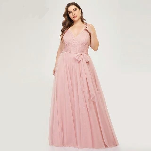 Dlhé spoločenské šaty do veľkosti 50 - Obrázok č. 1