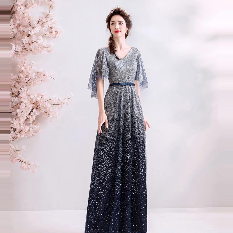 Dlhé spoločenské šaty pre MOLETKY do veľkosti 58 - Obrázok č. 3