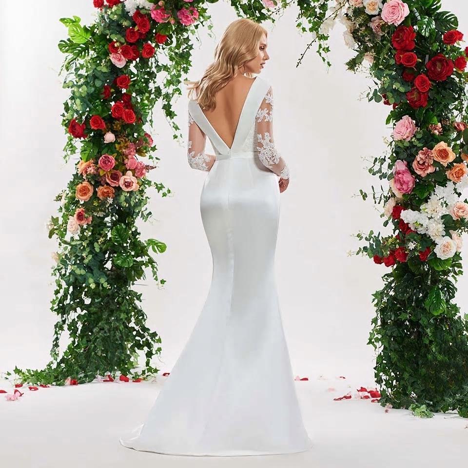 Rozprávkové svadobné šaty pre MOLETKY do 56 - Obrázok č. 3