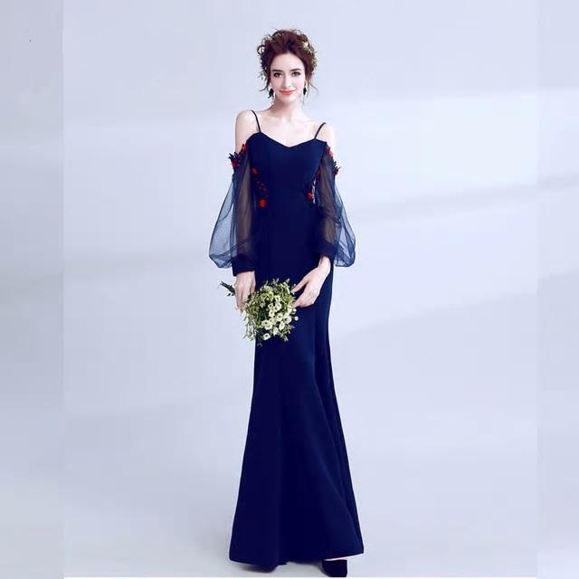 Dlhé spoločenské šaty do veľkosti 42 - Obrázok č. 1