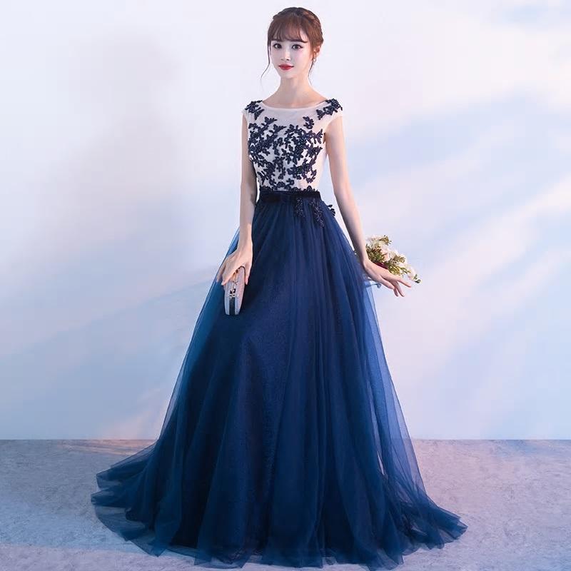 Dlhé spoločenské šaty do veľkosti 42 - Obrázok č. 3