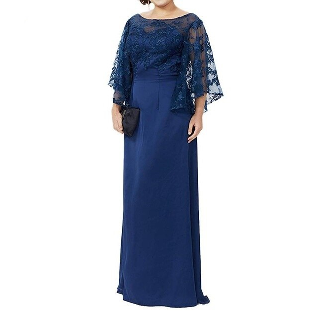 Dlhé spoločenské šaty pre MOLETKY do veľkosti 56 - Obrázok č. 1