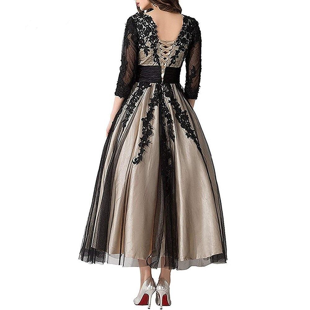 Dlhé spoločenské šaty pre MOLETKY do veľkosti 56 - Obrázok č. 3