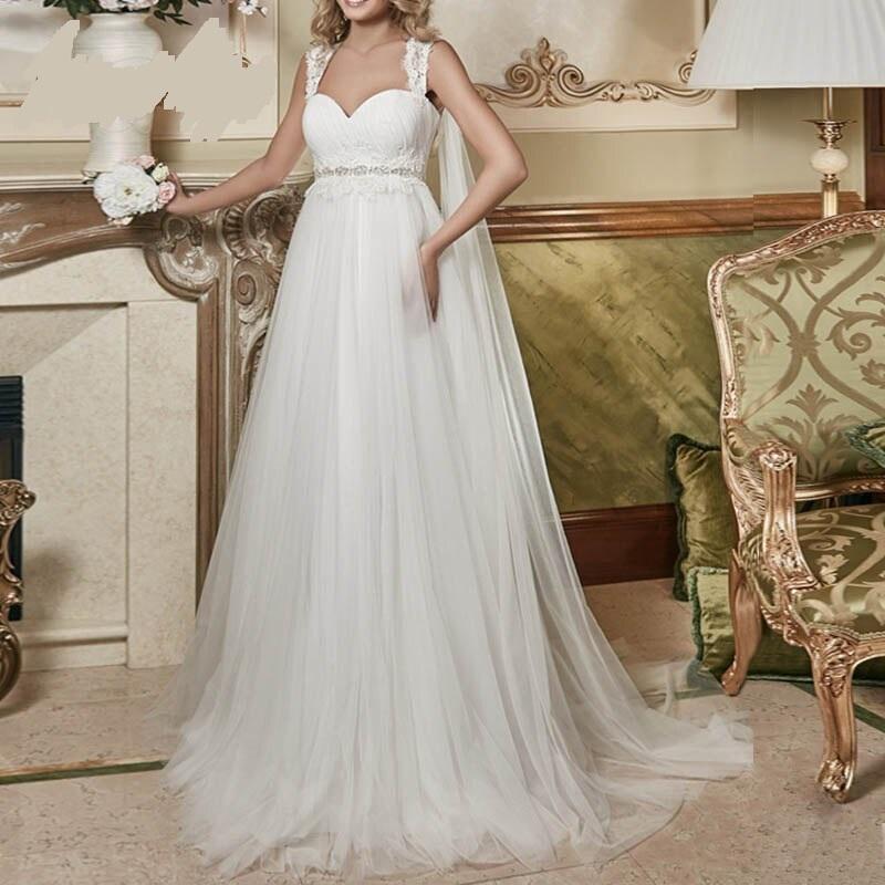 Svadobné šaty pre TEHULKY do 52 - Obrázok č. 1