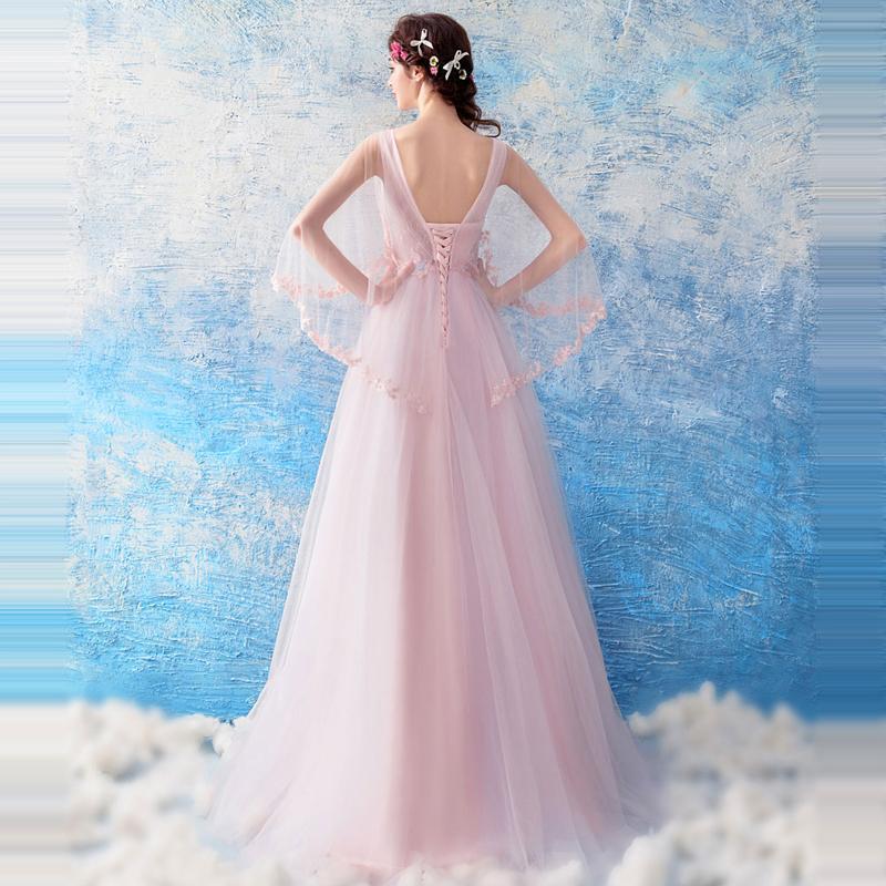 Dlhé spoločenské šaty pre MOLETKY do veľkosti 52 - Obrázok č. 3