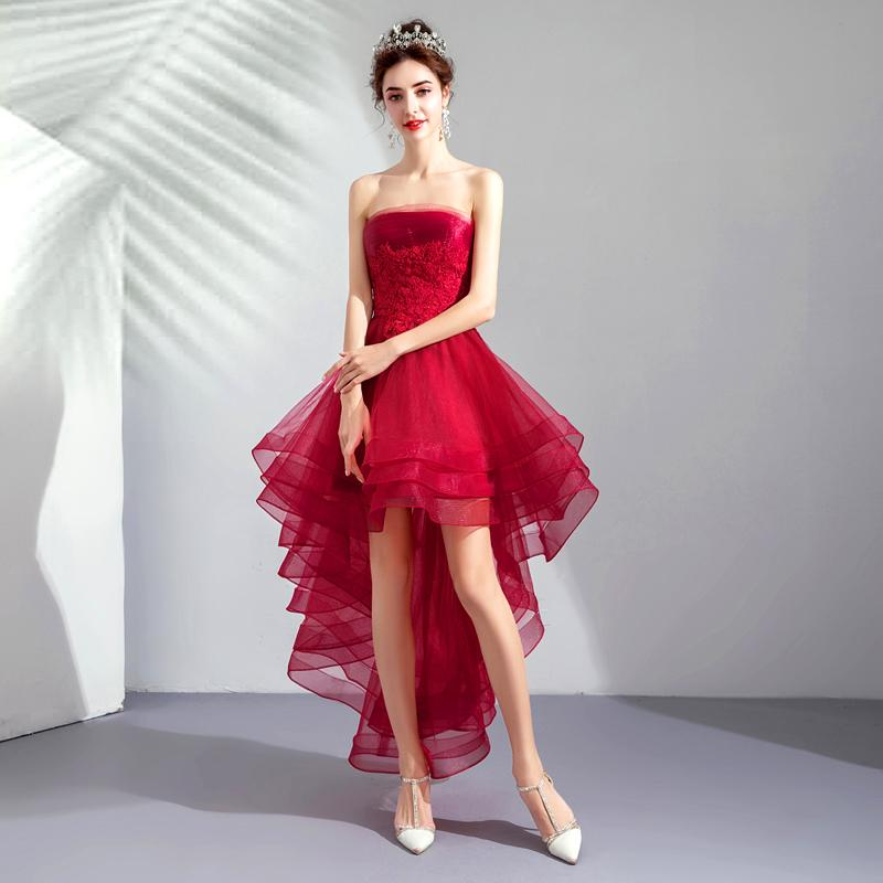 Krátke spoločenské šaty pre MOLETKY do veľkosti 54 - Obrázok č. 2