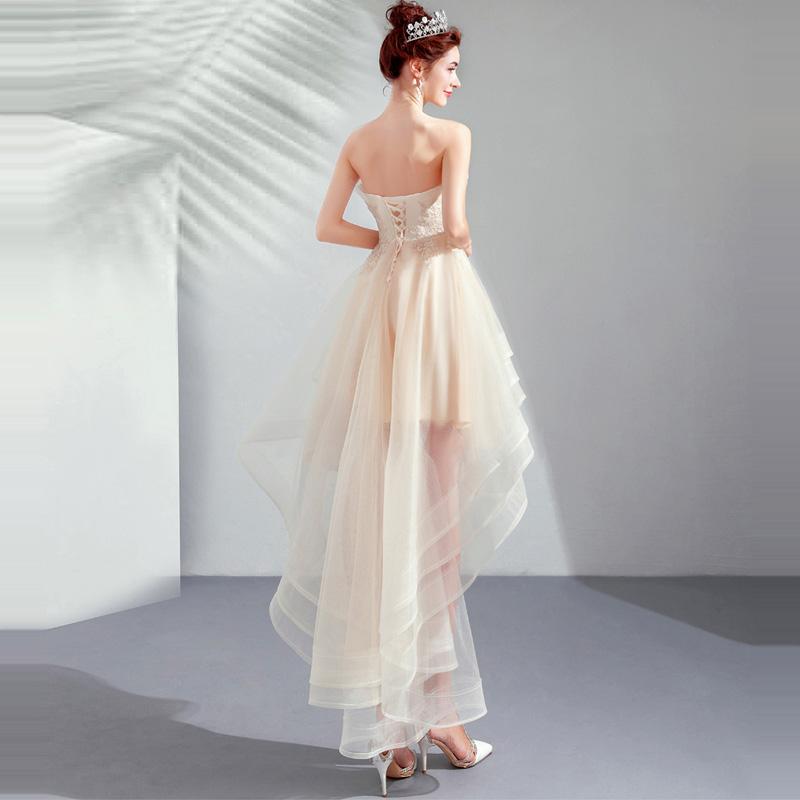 Krátke spoločenské šaty pre MOLETKY do veľkosti 54 - Obrázok č. 3
