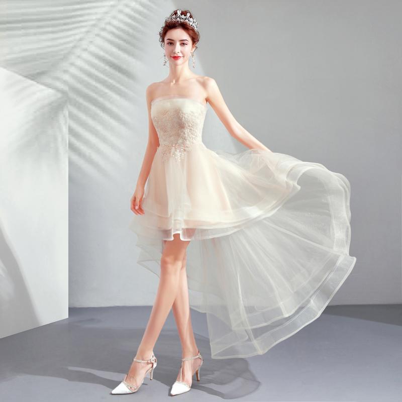 Krátke spoločenské šaty pre MOLETKY do veľkosti 54 - Obrázok č. 1