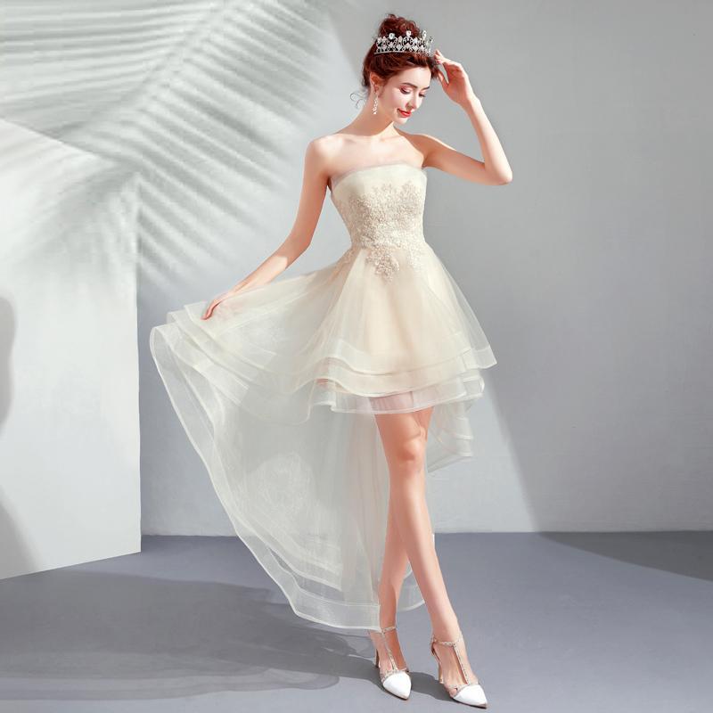 Krátke spoločenské šaty pre MOLETKY do veľkosti 54 - Obrázok č. 4