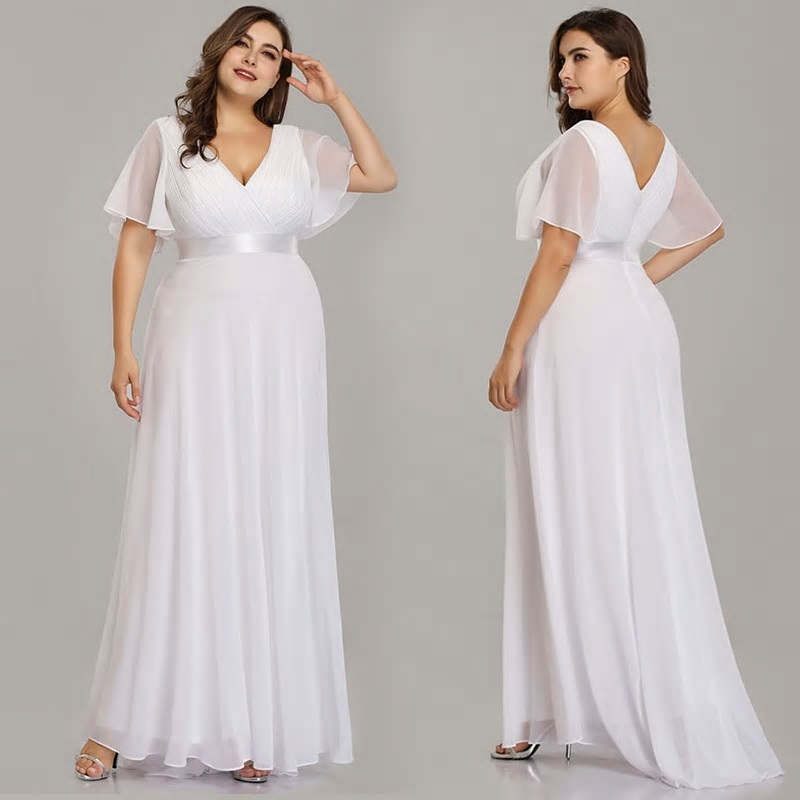 Dlhé spoločenské šaty - veľ. 54 IHNEĎ - Obrázok č. 1