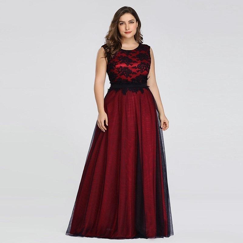 Dlhé spoločenské šaty pre MOLETKY do veľkosti 50 - Obrázok č. 1